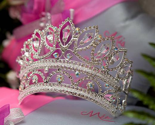 vestido de 15 df corona