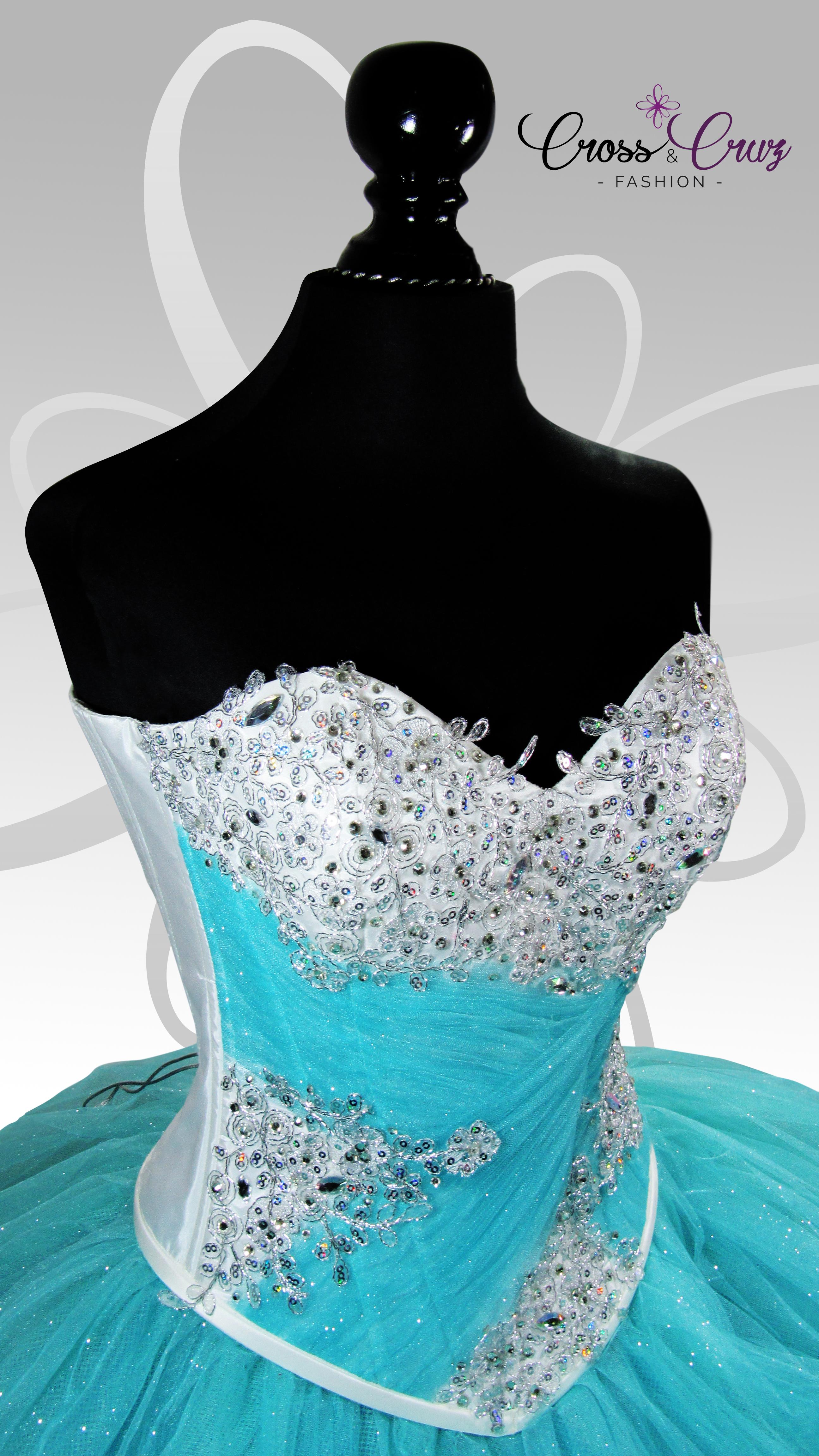 vestidos de 15 años con corset