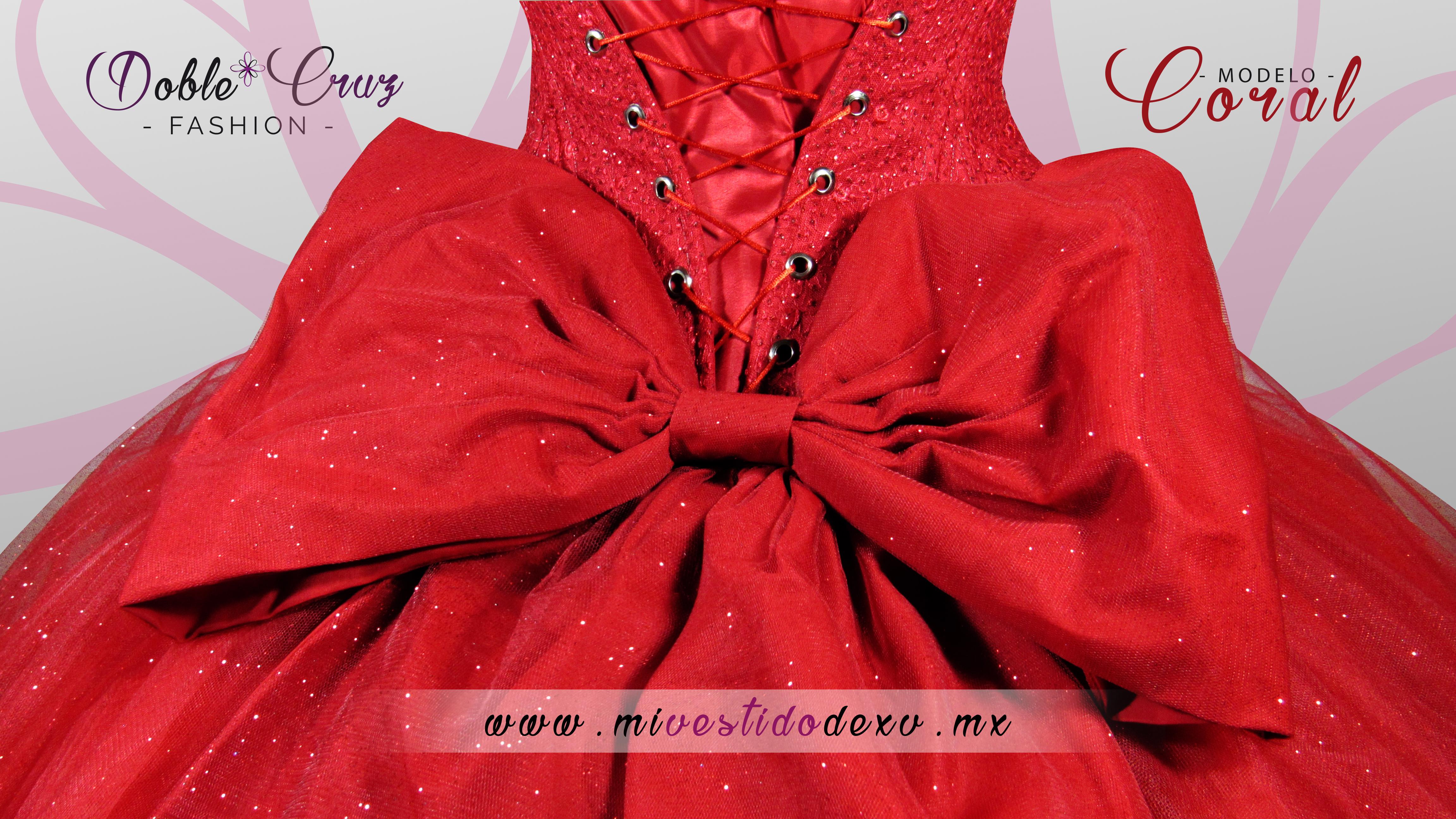 Maravillosos vestidos rojo de 15 años para fiestas