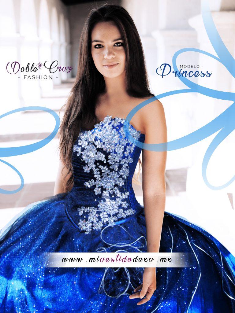 vestidoazul de quinceaños df