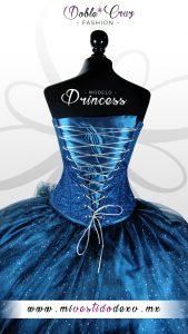 vestido de quinceañera méxico centro color azul