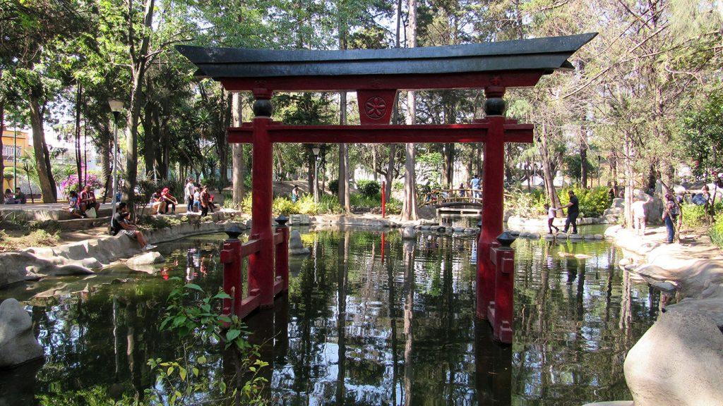 Sesión de fotos en elParque Masayoshi Ohira