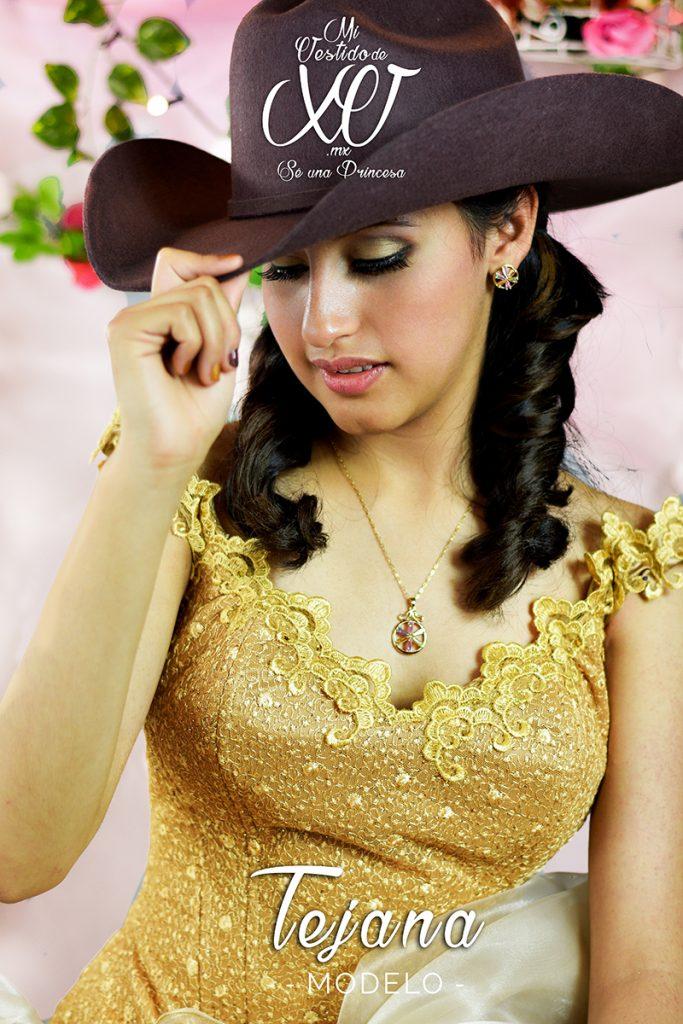 Vestido de 15 Años Ranchero Mexicano