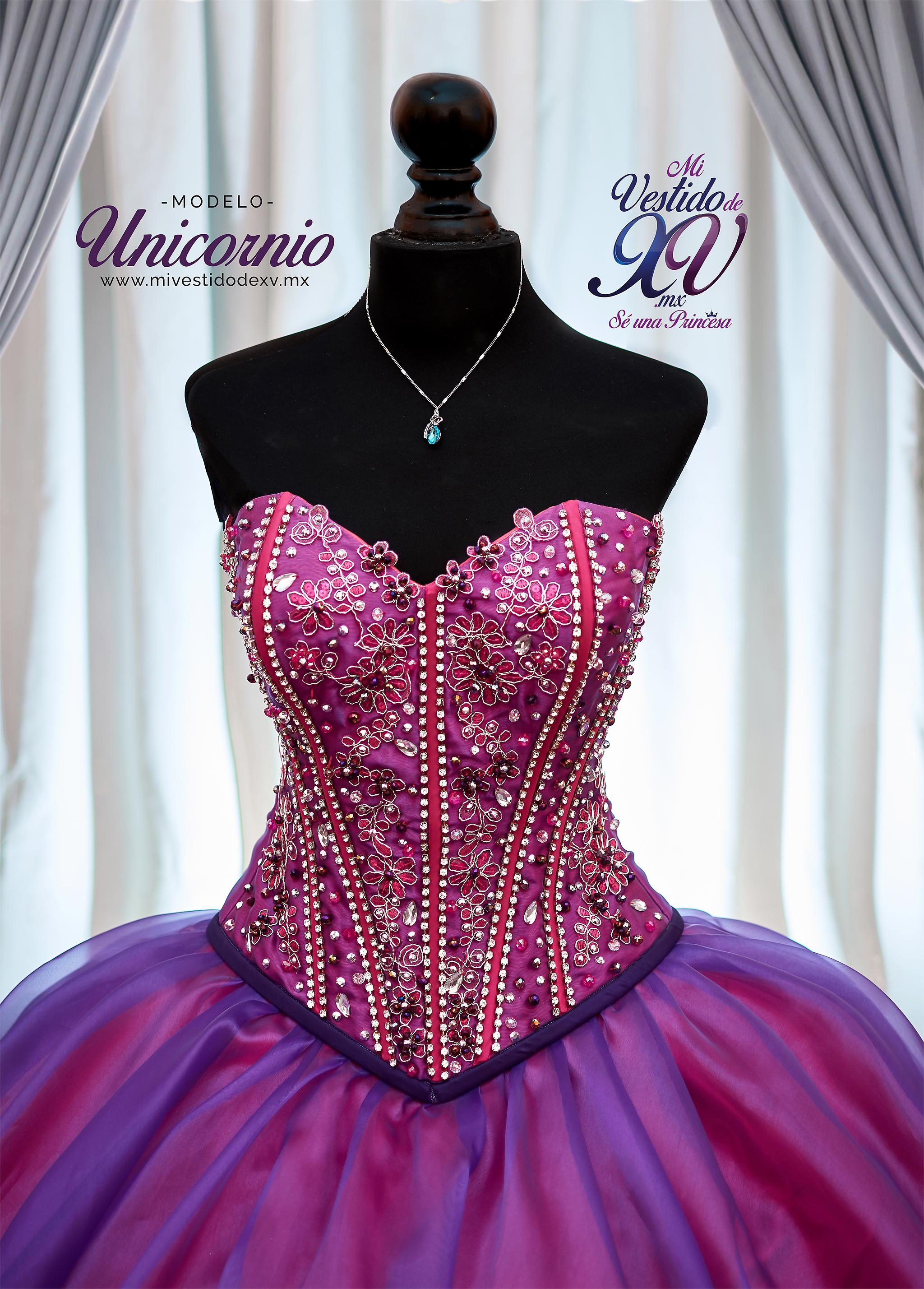 Vestido de 15años Unicornio en México