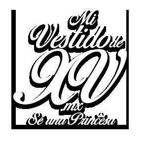 Logo Blanco Mi Vestido de XV